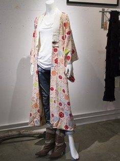 Antique Kimono Juban with Traditional Drum Pattern [Underwear] – Re: Kimono Style