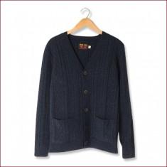 Wool Cardigan [Navy] – UES Online Store