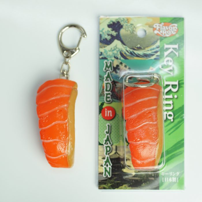 Sushi Key Chain [Salmon] – Japan Request Online Store