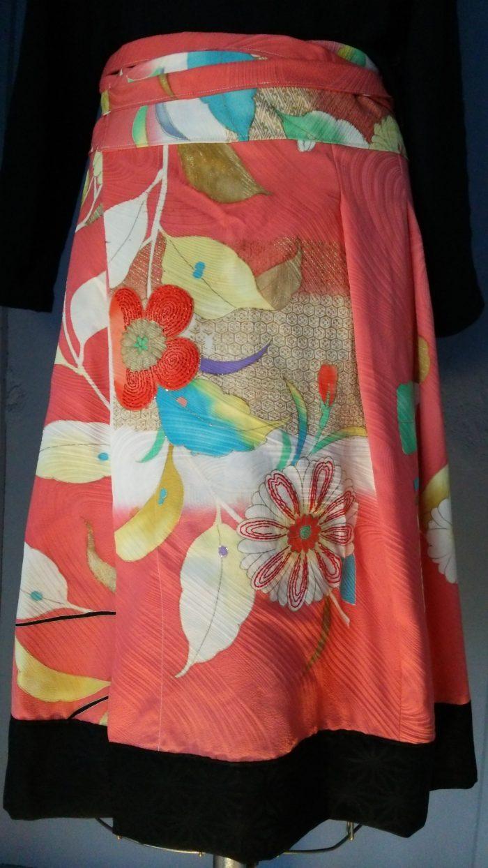 Genuine Silk Wrapped Kimono Skirt – Mercado Cool Japan Stores