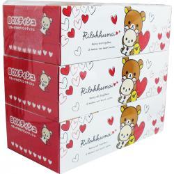 Rilakkuma BOX Tissue (3-packs) [COOLJAPANSTORE] – Discovery Japan Mall – Best Online ...