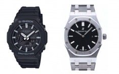 G-SHOCK GA-2100 Series similar to ROYAL OAK Watch, CasiOak ?  However GA-2100 is still popular i ...